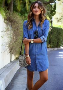 denim-shirt-dress